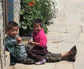 Kinder in Hile