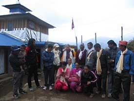 Lehrer*innen in Rawadolu mit PHASE-Team