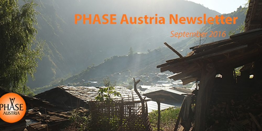 PHASE Austria-Newsletter September 2016
